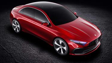 Mercedes-Benz Concept A Sedan top