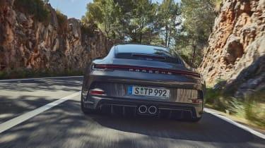 Porsche 911 GT3 Touring – rear tracking close