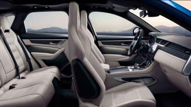 Jaguar F-Pace SVR 2021 interior