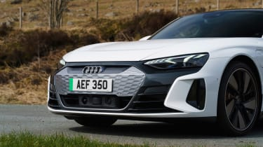 Audi e-tron GT quattro – nose