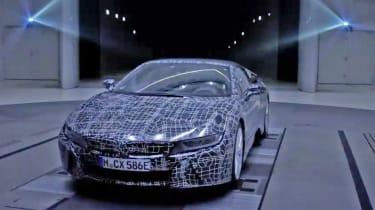 BMW i8 Spyder - teaser front 2