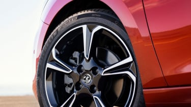 New Vauxhall Corsa wheel