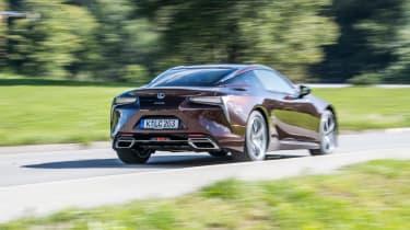Lexus LC500h - rear
