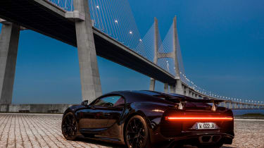 Bugatti Chiron - rear three quarter