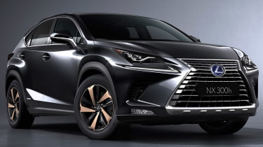 Lexus NX300 - studio grey static