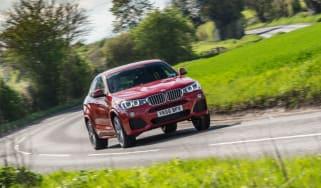 BMW X4 xDrive30d - Front