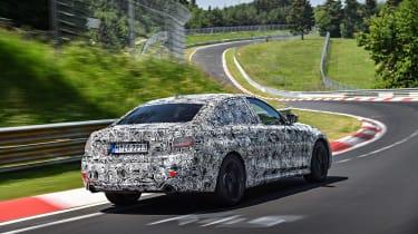 2019 BMW 3-series teaser - rear quarter