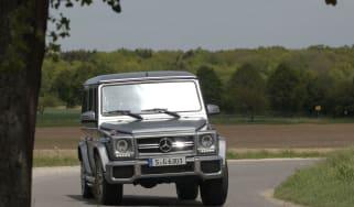 Mercedes-Benz G63 AMG cornering