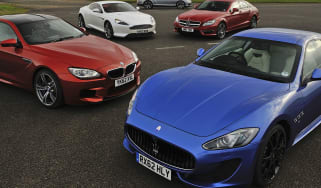 Maserati GranTurismo Sport v Mercedes CLS 63 AMG, BMW M6, Aston Martin DB9 and Bentley Continental GT Speed