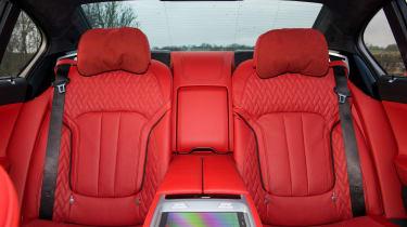 BMW M760Li xDrive - Rear seats