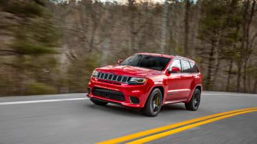 Jeep Grand Cherokee Trackhawk - driving