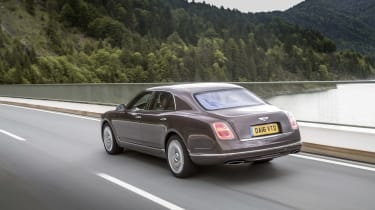 Bentley Mulsanne - rear