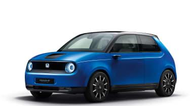 Honda e Prototype blue