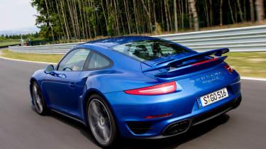 Porsche 911 Turbo S rear view