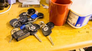 Nissan GT-R collector - keys
