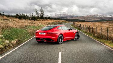 Jaguar F-Type four-cylinder - rear three quarter
