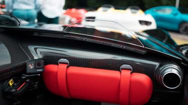 Ferrari Monza SP2 Goodwood FoS interior