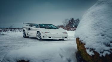 Lamborghini Countach – front quarter