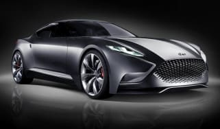 Hyundai HND-9 coupe front view