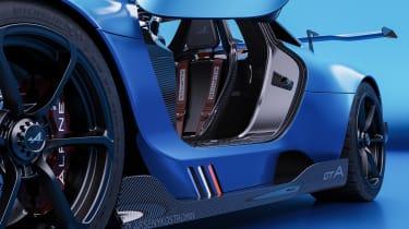 Alpine A110 GTA concept – door shut