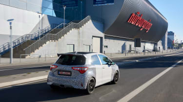 Toyota Yaris GRMN - rear three quarter