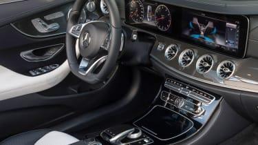 Mercedes-Benz E400 4Matic Cabriolet - Interior