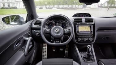 VW Scirocco R interior dashboard