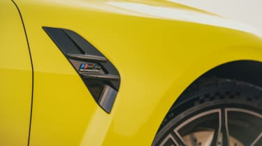 BMW M4 Competition 2021 review – vent