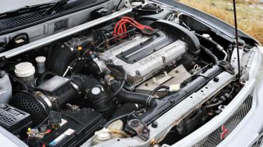 Mitsubishi Evo I engine bay