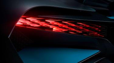 Bugatti Divo - tail light