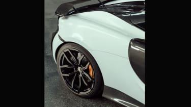 Novitec McLaren 570S Spider – rear quarter closeup