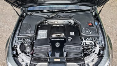 Mercedes-AMG E63 S estate – engine