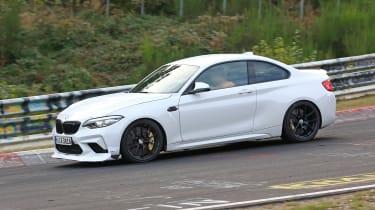 BMW M2 CS prototype - side