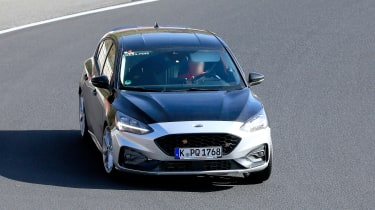 Ford Focus ST spy - nose