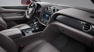 Bentley Bentayga V8 petrol - interior