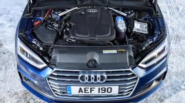 Audi A5 Sportback S-Line - engine bay