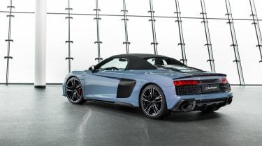 Audi R8 Spyder facelift - roof