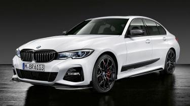 BMW 3-series G20 M Performance parts - front quarter