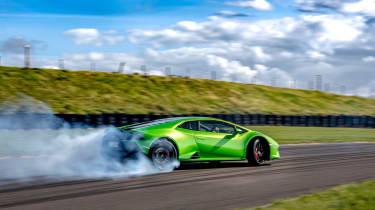 Lamborghini Huracán Evo RWD – rear sliding