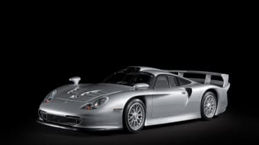 Rare Porsche 911 GT1 road car coming to auction