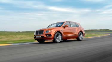 Bentley Bentayga Speed - front quarter