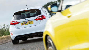 Ford Fiesta ST-line vs Suzuki Swift Sport