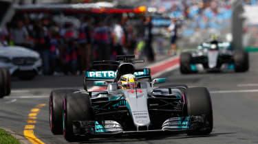 Merc Front F1 melbourne