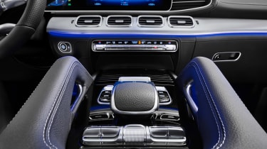 Mercedes GLE AMG-line - console