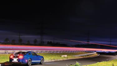 Shelby GT500 rear