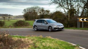 Volkswagen Golf GTI Clubsport - cornering side
