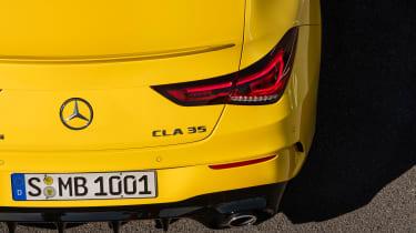 Mercedes-AMG CLA35 - badge