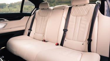 BMW 7-series 2019 rear seat