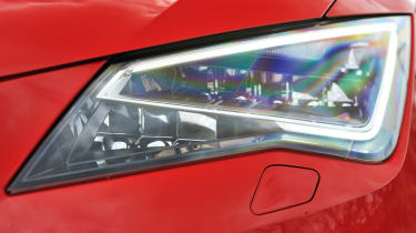 2013 SEAT Leon FR TDI 184 LED headlight