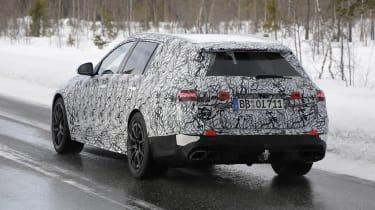 Mercedes-AMG C63 Estate 2021 spy - rear